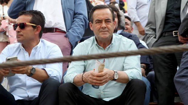 José Bono durante la despedida de Francisco Rivera en Las Ventas /Gtres