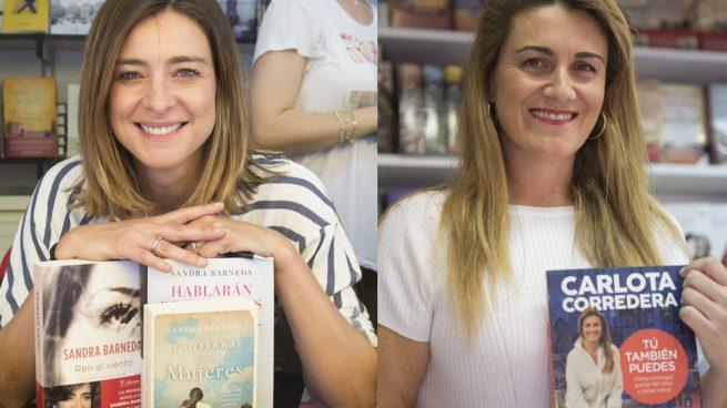 Carlota Corredera y Sandra Barneda en la Feria del Libro (Fotomontaje LOOK)