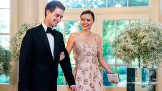 Miranda Kerr y Evan Spiegel en una imagen de archivo /Gtres