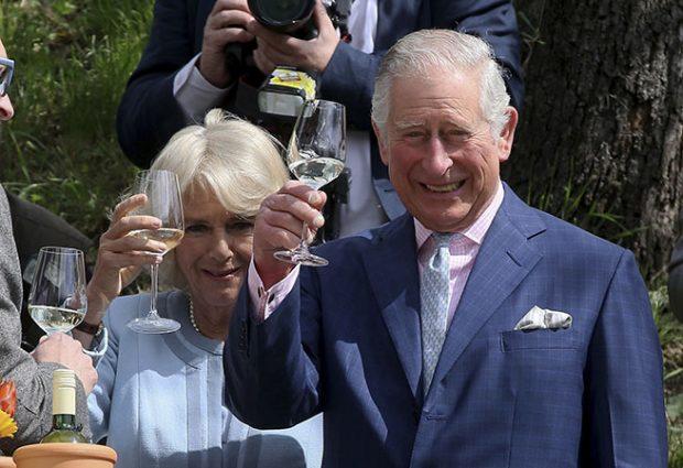 Príncipe Carlos de Inglaterra y Camilla Parker