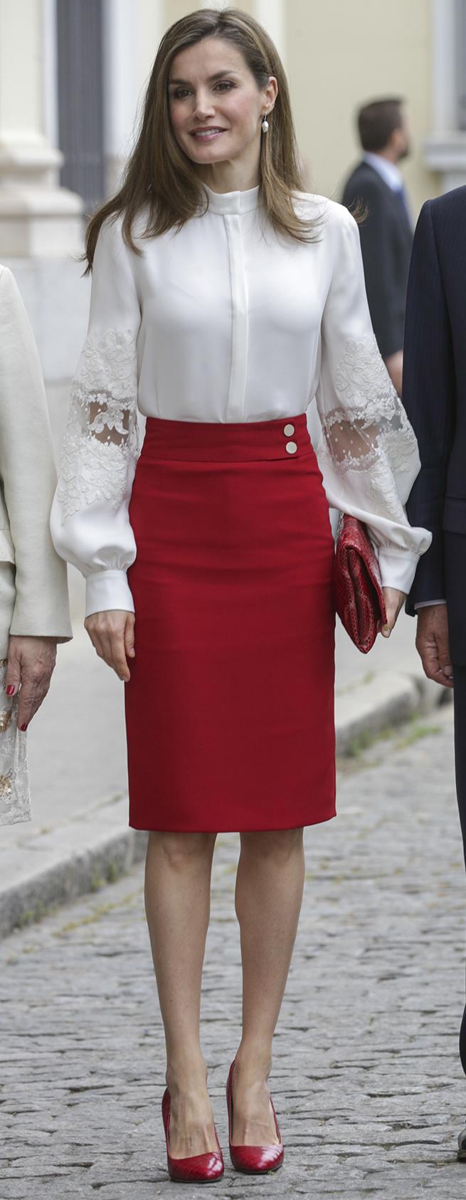 letizia rojo blanco