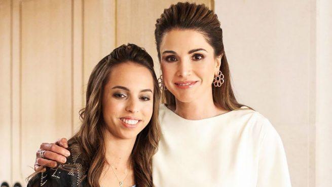 Rania y Salma de Jordania