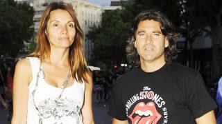 Toño Sanchís y su mujer Lorena Romero en imagen de archivo /Gtres