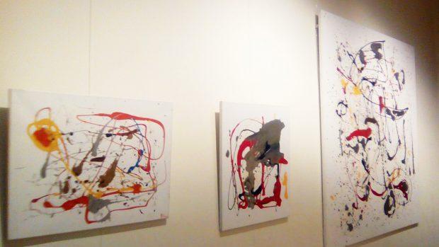 Parte de la última exposición abstracta de Palomo Linares /LOOK