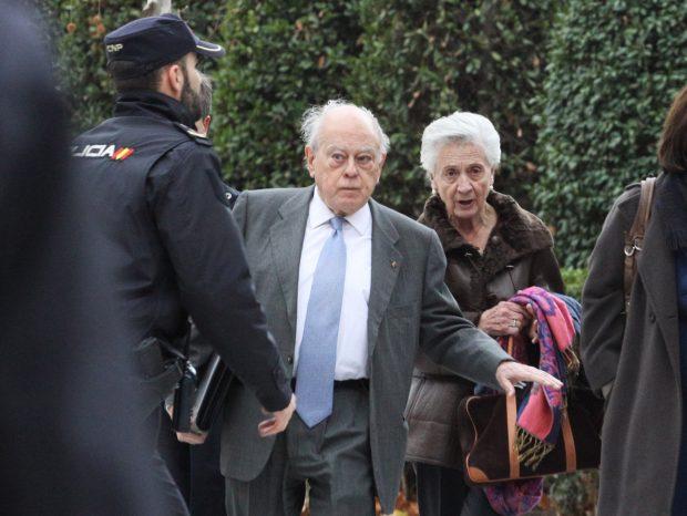 El político Jordi Pujol y Marta Ferrusola