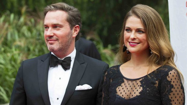 Magdalena de Suecia y su marido en una imagen de archivo /Gtres