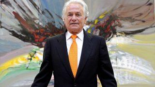 Sebastián Palomo Linares durante la exposición «45 años exponiendo» en el año 2012/ Gtres
