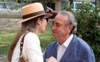 La infanta Elena de Borbón saluda al empresario Pedro Trapote