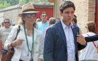 La infantan Elena y Felipe Juan Froilan Marichalar en Aranjuez