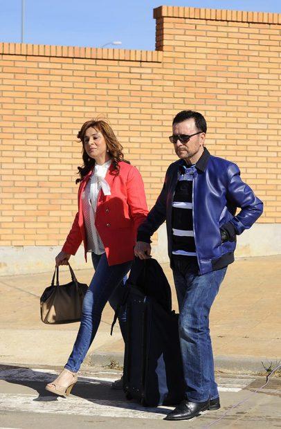 José Ortega Cano y Ana María Aldón abandona la prisión de Zuera /Gtres