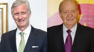Felipe de Bélgica y Juan Carlos I en imagen de archivo / Gtres