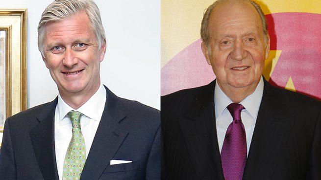 Felipe de Bélgica y Juan Carlos I