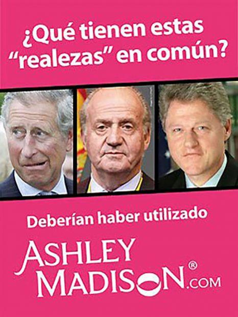 Lo ltimo en publicidad 39 aprovecharse 39 de los royals para - Ashley madison espana ...