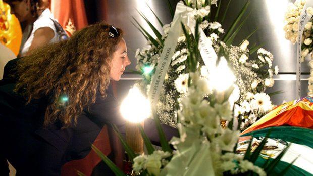 Rocío Carrasco vela a su madre, Rocío Jurado /Gtres