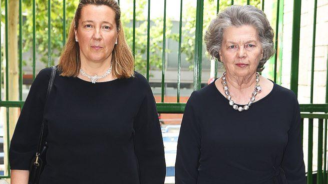 Cristina de Borbón Dos Sicilias y Ana de Orleans