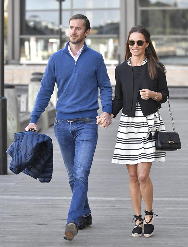 El estilo de Pippa Middleton en su luna de miel