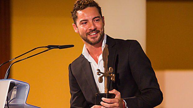 """David Bisbal durante los premios """"El Caminante"""" /Gtres"""