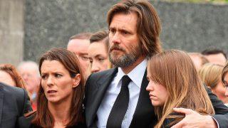 Jim Carrey en el funeral de su novia / Gtres