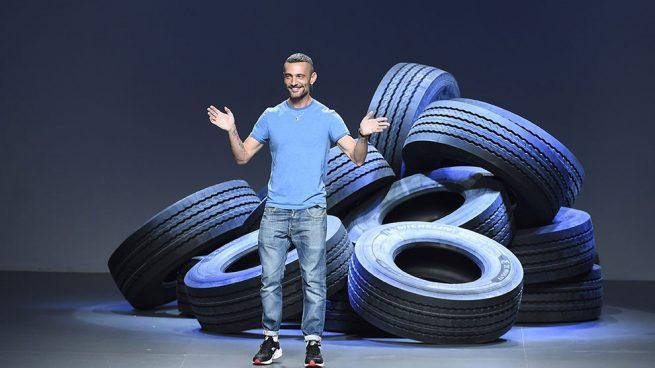 David Delfín en la Madrid Fashion Week, septiembre 2015 / Gtres