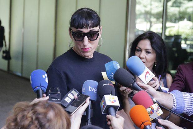 Rossy de Palma habla con los medios sobre la pérdida de su amigo, David Delfín /Gtres