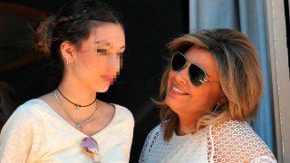 Terelu Campos y su hija Alejandra en una imagen de archiva / Gtres
