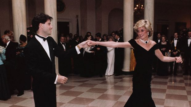 Diana de Gales y John Travolta