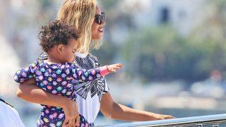 Beyoncé con su hija Blue / Gtres