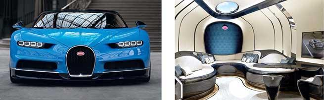 Bugatti Chiron vs Bugatti Niniette 66