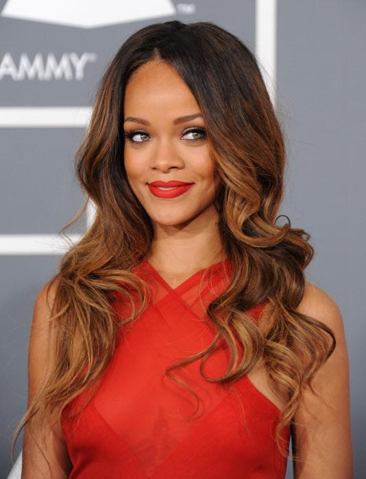 Pelo Mechas Rihanna