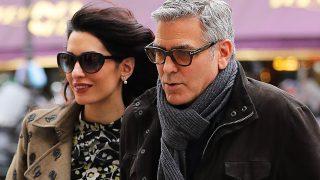 George y Amal Clooney en una imagen de archivo / Gtres