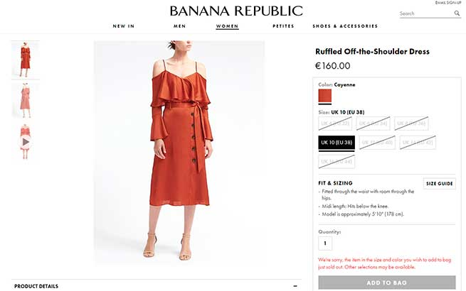 Olivia Palermo Vestido Banana Republic CFDA