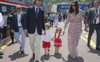 Andrea Casiraghi, Tatiana Santodomingo y sus hijos