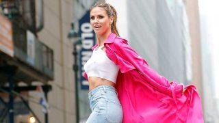 Haz clic en la imagen para ver la sesión fotográfica de Heidi Klum en Nueva York. / Gtres
