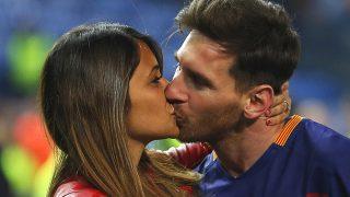 Messi y Antonella en una imagen de archivo / Gtres