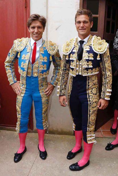 Manuel Diaz y Julio Benítez