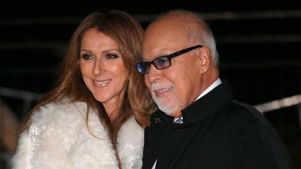 Céline Dion y René Algelil