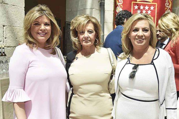 María Teresa Campos, Terelu Campos y Carmen Borrego