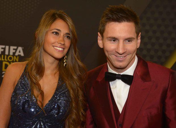 Leo Messi y Antonella en una imagen de archivo /Gtres