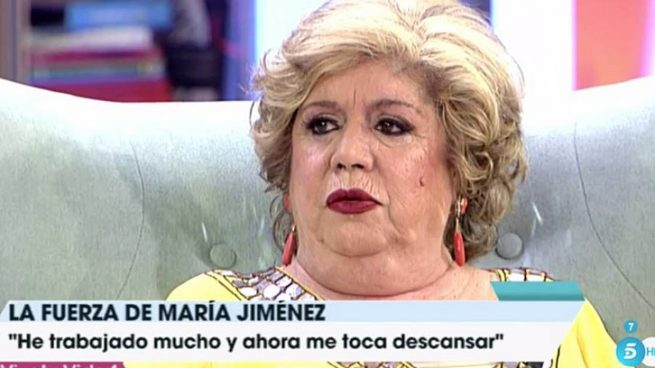 María Jiménez en 'Viva la vida' /Telecinco