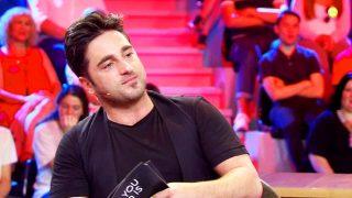 David Bustamante durante su entrevista con Risto Mejide /Mediaset