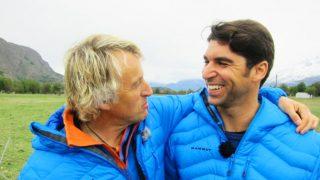 Jesús Calleja y Cayetano Rivera durante el programa 'Planeta Calleja' /Mediaset