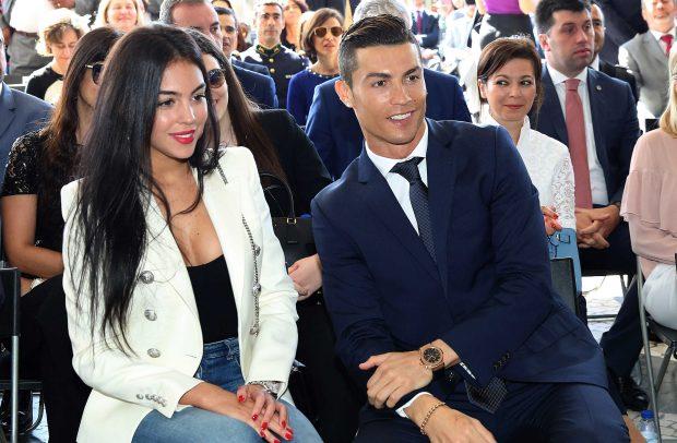 Cristiano Ronaldo y Georgina Rodríguez en una imagen de archivo /Gtres