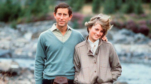 Los príncipes de Gales en Balmoral