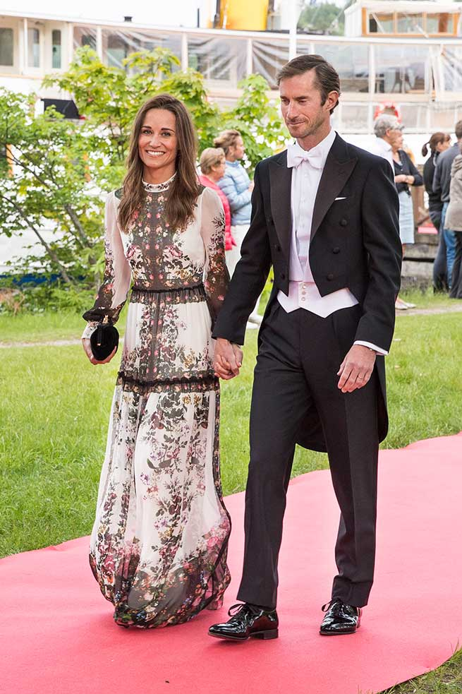 Pippa Middleton Look Invitada Vestido Erdem