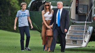 PINCHA EN LA IMAGEN PARA ACCEDER A LA GALERÍA / Donald Trump con su esposa Melania y su hijo Barron / Gtres