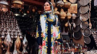 Ruba Zai, holandesa de origen afgano, es el nuevo rostro de Dolce & Gabbana. / Instagram: @dolcegabbana