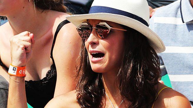 'Xisca' durante el 'Roland Garros'