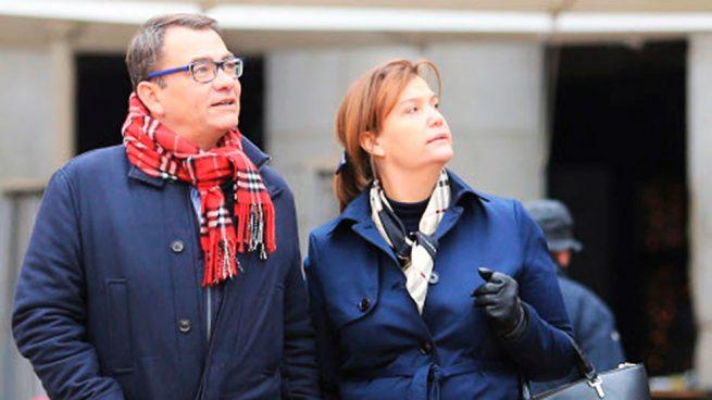 Ingrid Sartiau y Thierry Morraye