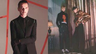 Diferentes disciplinas artísticas se fusionan en la campañaOtoño-Invierno 2017 de Dior Homme. / Dior