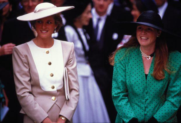 Diana de Gales y Sarah Ferguson